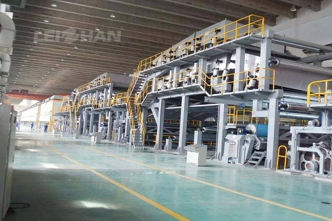 Paper writing company board machinery