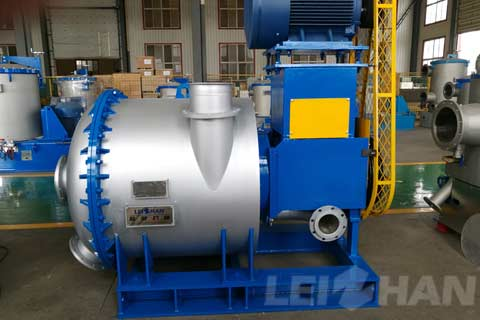 waste paper pulping machine hydrapurger