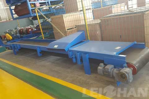 paper mill equipment belt conveyor
